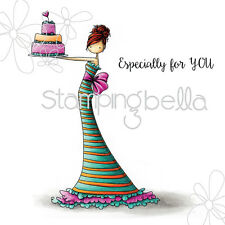 UPTOWN GIRL BRITTANY THE BIRTHDAY GIRL-Stamping Bella Cling Rubber Stamp-Craft