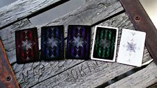 5x Artifice MINI DECKS Ellusionist Bicycle Playing Cards blue red purple green w