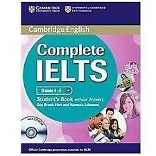 Complete Ielts Bands 4-5 Student's Book Without Answers With Cd-Rom: By Guy B...