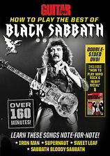 BLACK SABBATH TONY IOMMI GUITAR WORLD DVD NEW