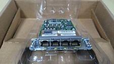 Cisco HWIC-4ESW-POE 802.3af POE Module w/ ILPM-4 for 2800 3800 2900 3900 Router