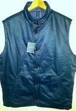 Peter Millar Reversible Quilted Vest Jacket with Leather Trim Men XL NWT $648