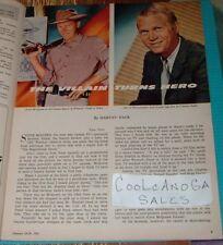 1961 TV WEEK GUIDE~STEVE MCQUEEN~WANTED DEAD OR ALIVE~TOM EWELL~ELISABETH FRASER
