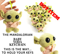 Baby Yoda Mandalorian 4 inch Plush Keychain The Child