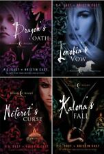 PC + Kristin Cast HOUSE OF NIGHT NOVELLA Collection Set of HARDCOVER Books 1-4