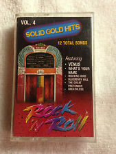 Rock & Roll Solid Gold Hits Vol. 4 - Featuring Venus - 1989 Classy Classics RARE
