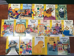 Sunshine Story Books 16 Mostly Joy Cowley With A Mix Of Others. EUC Used