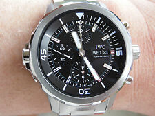 Erwachsene IWC Armbanduhren mit Chronograph für Herren