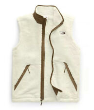North Face Campshire Vest Vintage White Sherpa Fleece Full Zip Large