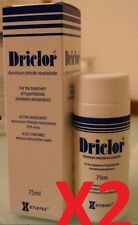Lot of 2 Driclor Antiperspirant Roll 75ml New in box  #dadk
