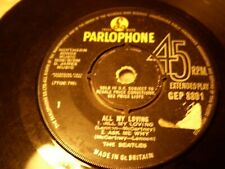 The Beatles All My Loving Ask Me Why Money PS I Love Parlophone GEP 8891 UK EP