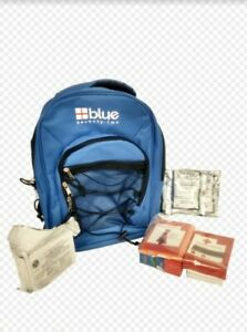 3 Day 72 Hour Emergency food  Survival Kit Bag in Blue for 1 Person BLUE