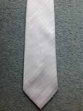 Mens Tie Silver - Thomas Nash - Poor Condition - Fancy Dress?