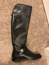 5bc17b77bd8 Coach Leather Black Over The Knee Boots 6