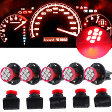 Red PC168 T10 194 8SMD Dashboard Dash Instrument Panel Cluster Led Light Bulbs