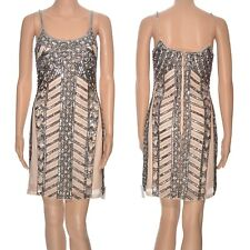 Miss Selfridge embellished cami dress party beaded sequins bodycon gatsby 1920's