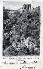 TIVOLI:Tempio di Vesta della Sibilla e Grotta di Nettuno