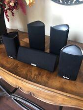 Polk Audio Surround Sound Speakers (5) RM7, RM8, RM8 Center