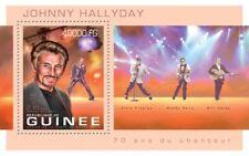 Guinea-2013 Johnny Hallyday 70th Birthday Stamp Souvenir Sheet 7B-2171