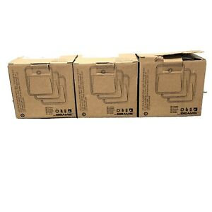 (9)MR BEAMS MB723 WIRELESS MOTION-ACTIVATED LED LIGHT 3PK 20 LUMENS NEW IN BOX