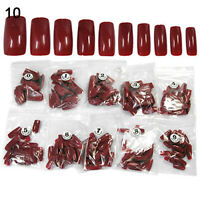 500 Pcs Acrylic False French Fake Full Cover Nail Art Tips Manicure Tool Healthy