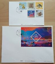 China Macau 2016 Zodiac Lunar New Year Monkey Stamp + S/S FDC 中国澳门生肖猴年邮票+小型张首日封