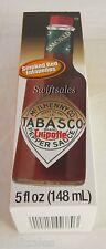 Tabasco Chipotle Pepper Sauce - Smoked Red Jalapenos 5 oz - Fresh!