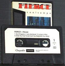 Various Fierce Dance Cuts No 1 CASSETTE ALBUM Cooltempo ZCTLP4 Electronic Hip-h