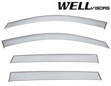 WELLvisors Window Visors Rain Deflectors For 2009-2017 Chevrolet Traverse