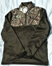 Green Bay Packers Under Armour ColdGear Loose RealTree AP hunting jacket MEDIUM