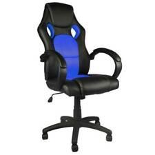 Bakaji 02832099 Poltrona Racer Gaming Girevole - Blu