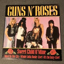 "Lot of (2) Guns N' Roses 12""s Records Metallica Nirvana Motorhead"
