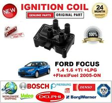 FOR FORD FOCUS 1.4 1.6 +Ti +LPG +FlexiFuel 2005-ON IGNITION COIL 3-PIN TYPE M4