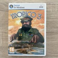TROPICO 3 - 2009 RTS STRATEGY PC GAME - ORIGINAL & COMPLETE WITH MANUAL - VGC