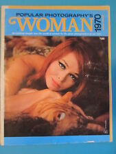 POPULAR PHOTOGRAPHY'S WOMAN 1970 Annual Magazine Art Photos RARE