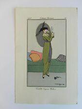Journal Dames Modes n°25, pl. 51 52 53 Vallée Barbier Metzonos 1913 complet