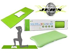 "Durable Slip Resistant Yoga Mat (67"" x 24"") + Wii Fit Balance Board Protective"