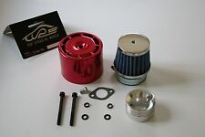 Air filter set with Red cover for 1/5 RC HPI BAJA Rovan King Motor 5B 5T 5SC