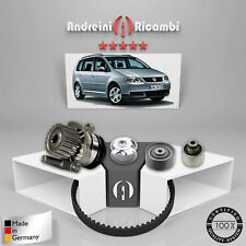 KIT DISTRIBUZIONE + POMPA ACQUA VW TOURAN 1T1 2.0 TDI 16V 103KW 140CV 2004 ->