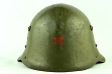 WW2 GERMAN ALLY M36 RED STAR size 59 BULGARIAN DECAL COMBAT HELMET WWII