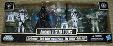 Star Wars 2012 AMBUSH AT STAR TOURS Set of 4 Figures Disney Parks Exclusive