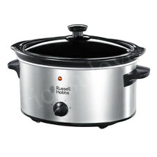 Russell Hobbs 23200 Slow Cooker, 3.5 L - Stainless Steel Silver