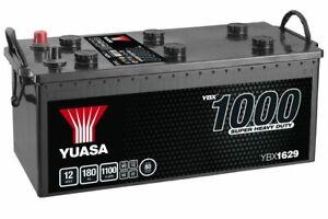 Yuasa YBX1629 629SHD Cargo Super Heavy Duty Battery 12V 180Ah 1100A