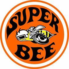 "Dodge Super Bee 8"" Circle Aluminum Metal Sign"