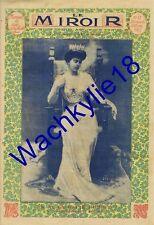 Le miroir n°53 du 30/03/1913  Sophie de Prusse Reine de Grèce Louis Barthou
