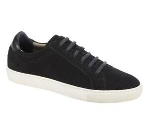 Banana Republic Men's Black Nicklas Corduroy-Suede Sneaker 9.5M