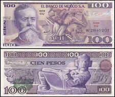 Mexico 100 Pesos, 1974, P-66a, UNC, Series-CU