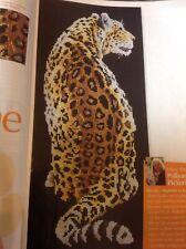 (C) Pollyanna Pickering Jungle Leopard Cross Stitch Chart