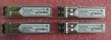 4 x Finisar FTRJ8519P1BNL 2GB Fiber Optic Transceiver 850nm Shortwave GBIC SFP