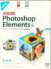Adobe Photoshop Elements 6  In Box, Disc,Start Up Guide  Pre owned Open Box